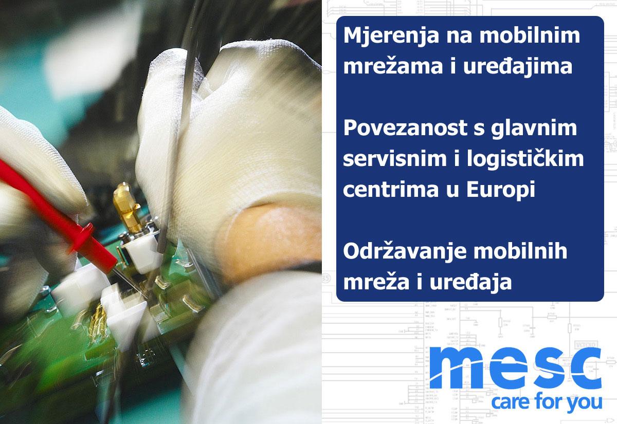 Mjerenja na mrežama i mobilnim uređajima