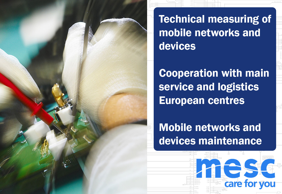 Mobile networks and devices maintenance