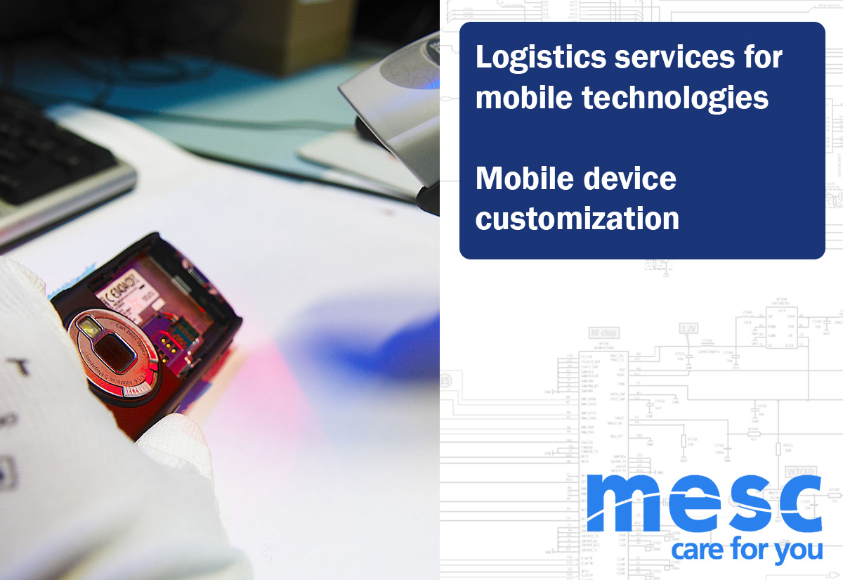 Logistics services for mobile technologies